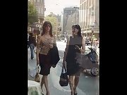 Gorgeous Crossdressers In Public