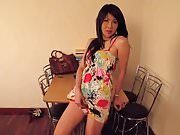 LADYBOY DATING — Sexy Big Cock Ladyboy Cum