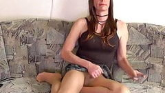 CROSSDRESSER on Webcam, my live as Transgender