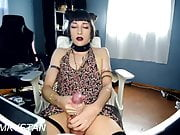 monster cock shemale cum