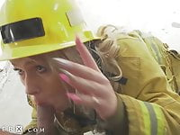 GenderX – Getting Fucked Raw By Trans Firefighter