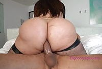 lucky guy fucks shemale big booty