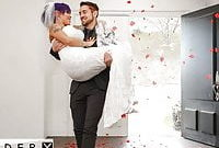 GenderX – TS Foxxy Butt Fucked On Her Wedding Night
