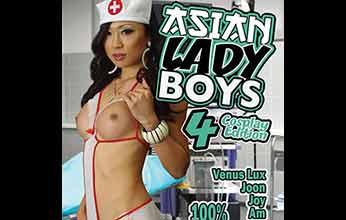 Asian Lady Boys 4 Cosplay Edition